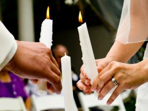 Ceremonia o ritual de las velas