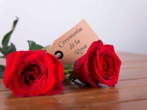 Ceremonia o ritual de la rosa