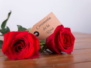 Ceremonia ó ritual de la rosa