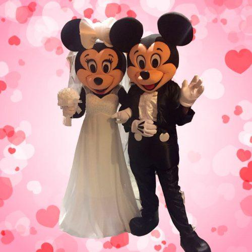 Personajes Disney Mickey y Minnie para Bodas