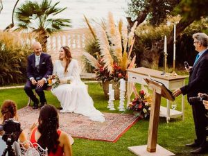 Ceremonias románticas y emotivas