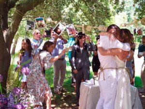 Ritual de las cuerdas para bodas