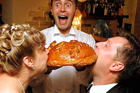 Ritual divertido del pan